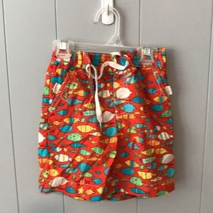 5 for $15- Hanna Andersson swim trunks size 2